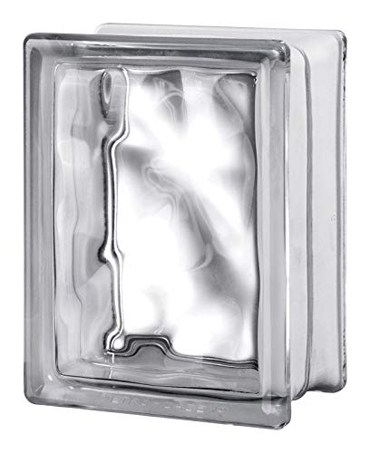 Seves 5002889 8 x 6 x 4 in. Nubio Glass Block - Pack of 8