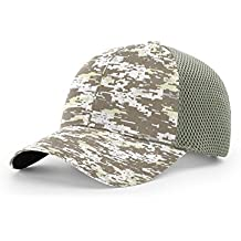 Richardson 855 Camo Airmesh R-Flex Blank Baseball Cap Fit Hat