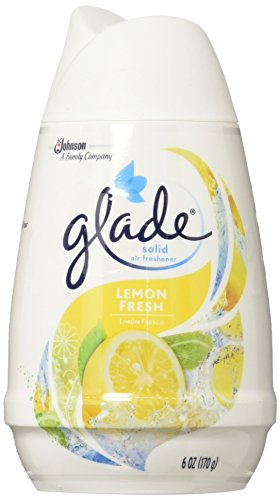 Glade Solid Air Freshener, Lemon Fresh, 6 Ounce (Pack of ()