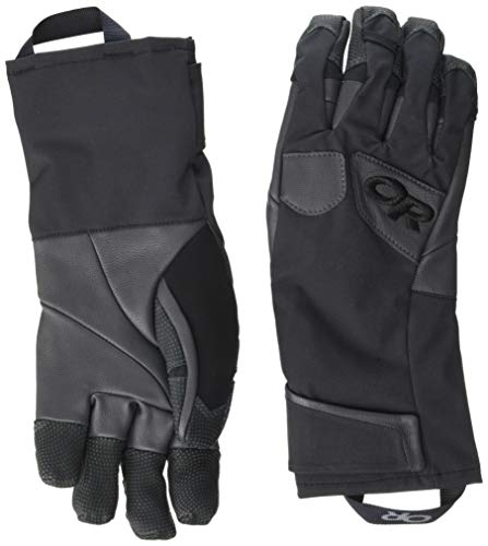 Outdoor Research Men's Extravert Gloves, Black/Charcoal, ()