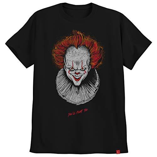 Camiseta Pennywise It Ultra Skull Palhaço A Coisa Tumblr P
