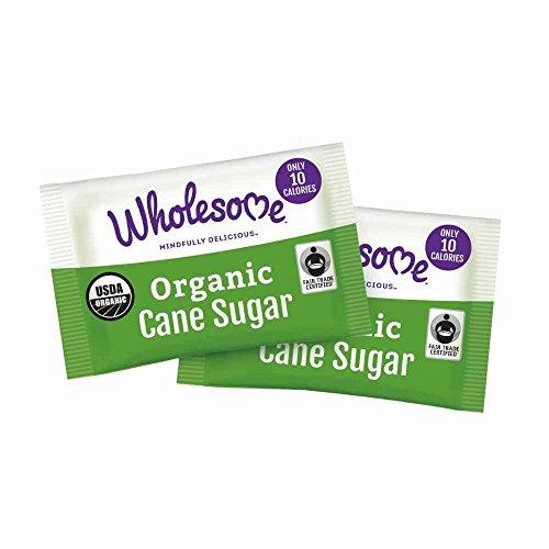 Wholesome Sweeteners Organic Cane Sugar Packet, 2. 6 Gram -- 1000 per case.