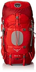 Osprey Women's Ariel 75 Backpack, Vermillion Red, Small
