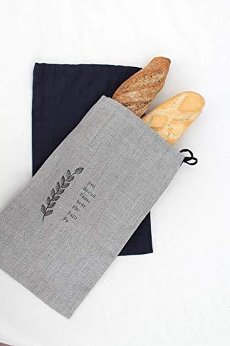 Bolsa Pan Lino Espiga: Amazon.es: Handmade