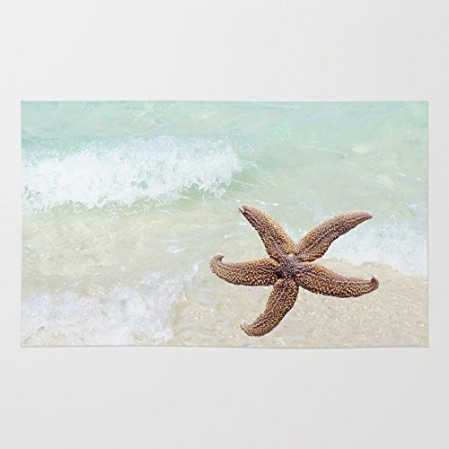 Society6-Starfish-On-The-Beach-Rug