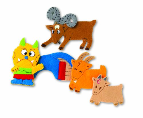 Educational Insights Three Billy Goats Gruff (Storytelling Puppets Patterns)
