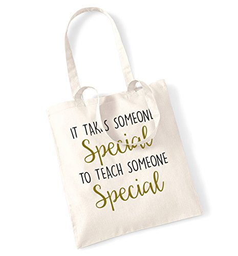 to special someone bag Natural takes It teach tote someone special BfPqta
