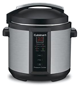 Cuisinart EPC-1200PC 6-Quart Electric Pressure Cooker – I have loved this pressure cooker since my first use of it