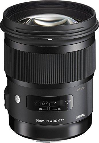 Sigma 50mm F1.4 ART DG HSM Lens for Canon