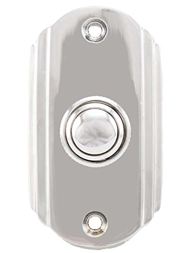 Chrome Doorbell (Streamline Deco Doorbell Button in Polished Chrome)