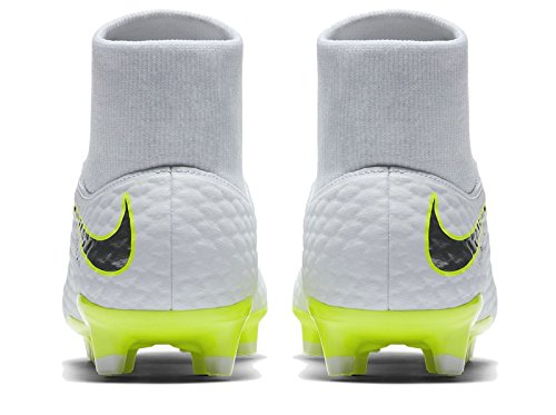 Dynamic da 107 Chrome ch Phantom White Fit Hypervenom Bianco volt Scarpe III Academy FG Uomo Calcio Nike qawIB8Z