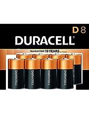 Duracell - Coppertop D Alkaline Batteries