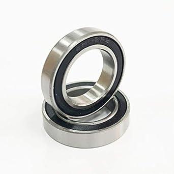2 piezas rodamientos de cerámica 6802 | 6802 - 2RS 15 x 24 x 5 mm rodamiento de bolas | 61802 de cerámica Si3 N4 rodamientos BB hubs: Amazon.es: Amazon.es