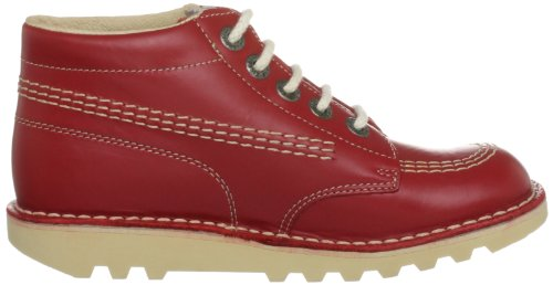 Lt Kickers Red Kids Hi Boots Kick Cream Ankle gg6xqSP