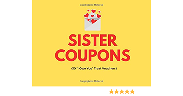Sister Coupons (30 \