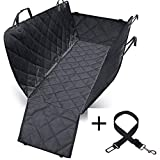 Andiker Pet Seat Cover Cars and Trucks,Dog Seat Cover for Car Back Seat, Water Proof &Non-Slip (with Zipper) For Sale