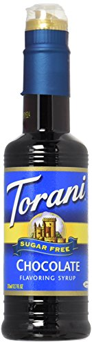 Sugar Free Flavored Syrups - Torani Sugar Free Chocolate Syrup 12.7 ounce