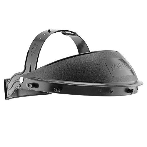 "Suspension Headgear - Jackson Safety Headgear KDG10 K-Facesaver (14381), Ratchet Suspension, for 12"" or 15.5"" Face Shields, Cushioned Sweatband, Black, 12 Units/Case"