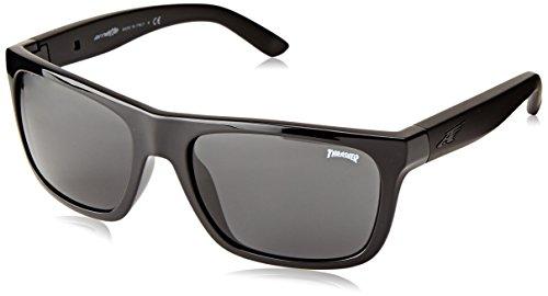 Arnette Dropout Round Sunglasses,Thrasher/Grey,55 - Mens Sunglasses Arnette