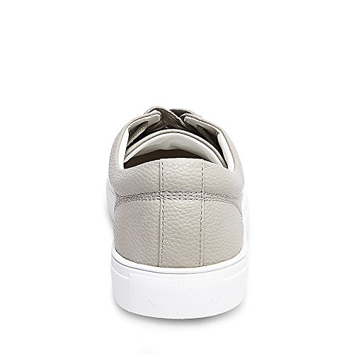 Faux Fashion Sneakers Grey Leather Mens Bonded Textured Madden Steve YwtaHq