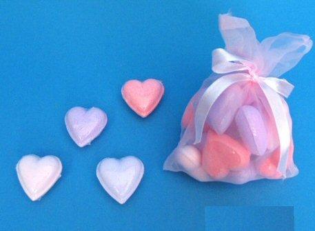 Badeherzen SWEET HEARTS für mehr Romantik im Bad...