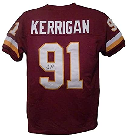 buy popular 677c9 fcdac Ryan Kerrigan Autographed Washington Redskins Red XL Jersey Red Jersey JSA