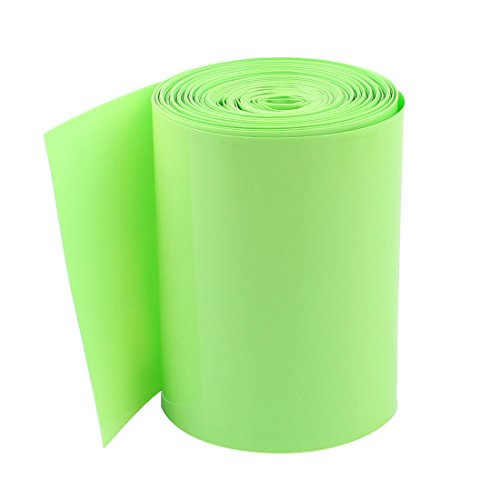 10M 85mm PVC Heat Shrinking Tubing Cover for 18650 Battery Pack by uxcell