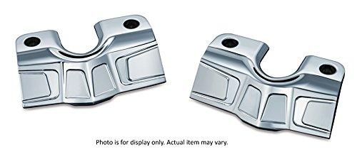 Kuryakyn 7343 Bahn Chrome Spark Plug HD Bolt - Covers Kuryakyn Bolt Head