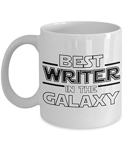 Best Writer in the Galaxy, Writer Mug, Fan-inspired Star Wars Writer Gift (Writer Best Worlds)