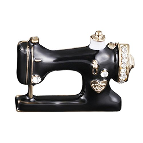 Botrong Fashion Crown Drop Corsage Sewing Machine Chest Pin Brooches