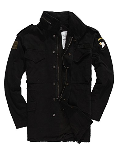 Menschwear Militari A Nero Lunga Uomo Trench Giacca Cotone Moda Cappotto Manica Antivento rrqIH