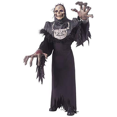 (Grim Reaper Creature Reacher Costume Adult Scary Halloween Fancy)