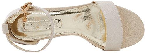Gold XTI Donna Caviglia alla con Cinturino Scarpe Oro 30702 vPrqpwv8