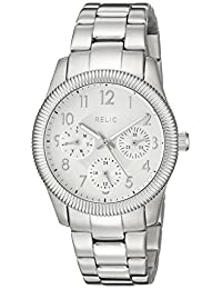 Relic Women's ZR15815 Kendra Analog Display Analog Quartz Silver Watch