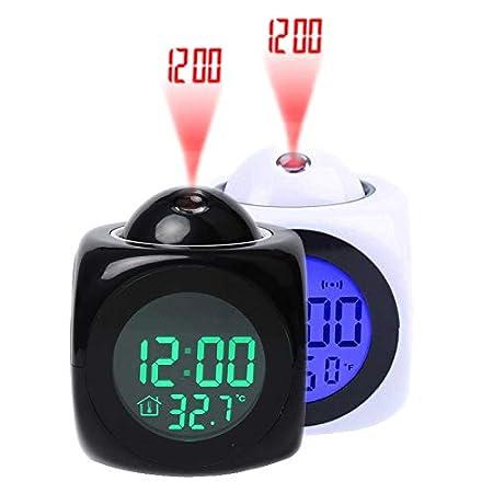 Faxiang Reloj Despertador Digital multifunción con Voz Que Habla ...