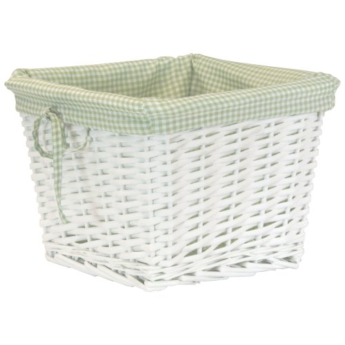 (Gingham Pattern Cloth Liner - Sage Green)