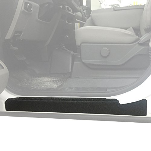 Door Entry Guards Scratch Shield 2017-2018 Ford SuperDuty F250 Crew Cab 4pc Paint Protector Threshold Kit
