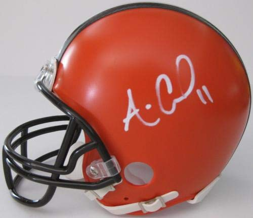 Amazon.com  Antonio Callaway Autographed Helmet - Mini Proof - Autographed  NFL Mini Helmets  Sports Collectibles 159072359
