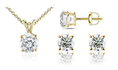 parikhs-round-diamond-set-popular-quality-screwback-14k-yellow-gold-030-ctw-i2-clarity
