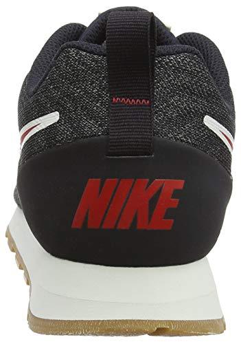 Red Mesh 2 Gunsmoke Homme Grey University 001 Oil Multicolore Nike MD Baskets Runner Eng qPBBIw