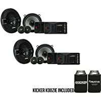 Kicker KSS504 KSS50 5.25 Component system with 1 tweeters 4-Ohm bundle