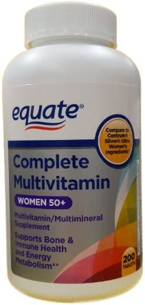 Equate – Complete Ultra Women s Health, 200 Tablets