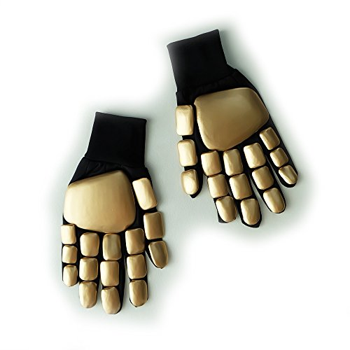 Custom Wearable Halloween Costume Cosplay Prop DJ Music Gift Daft Punk Glove Gold MA183]()