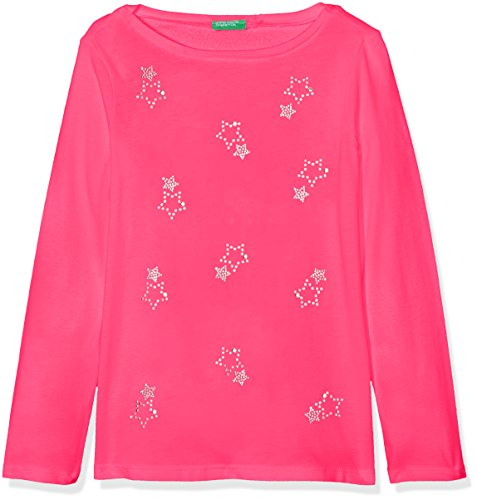 United Colors of Benetton T-Shirt L/S, Camiseta para Niñas: Amazon.es: Ropa y accesorios