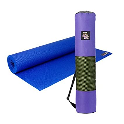Amazon.com : Yoga kit: Non Slip Yoga Mat 4mm Thick and Large ...