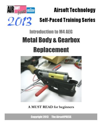 Classic Army Gearbox (2013 Airsoft Technology Self-paced Training Series: Introduction to M4 AEG Metal Body & Gearbox Replacement)