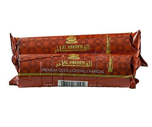 10-Pcs-Tabs-Instant-AL-FAKHER-Premium-Quick-Lighting-Charcoal-Briquets-for-Hookah-Shisha-Hooka-Pipe-Incense-Easy-Lite-Coal-1-Rolls