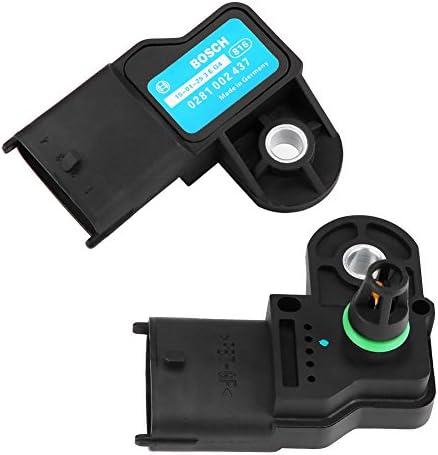 Kimiss Luftdrucksensor Kartenverteiler Luftdruck Turbo Boost Sensor Für 0281002437 Auto