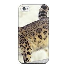 Perfect Fit JlVPjUX2574lOjMr Snow Leopard Pictures Case For Iphone - 4/4s