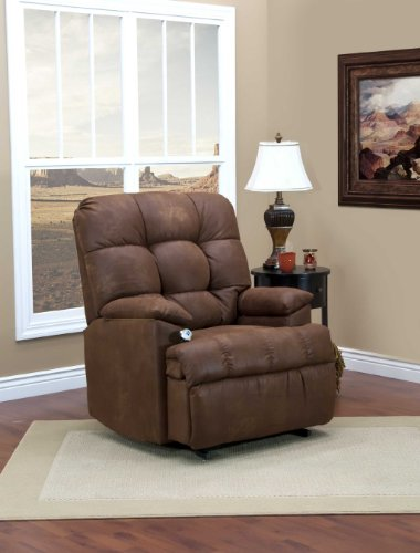 5600 Series Wall-a-Way Reclining Lift Chair Upholstery: Stampede - Tanner (Wall 5600 Series)